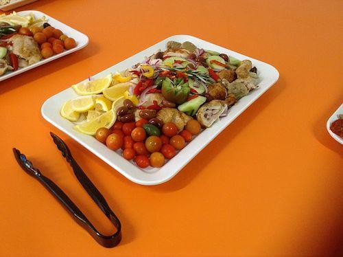 Välimeren dieetissä suositaan kasviksia, hedelmiä, kalaa ja kasvisrasvoja (kuva: Rmjelley CC-BY)
